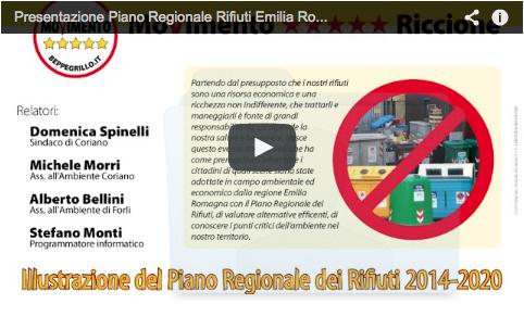 Presentazione del Piano Regionale Rifiuti della regione Emilia Romagna 2014-2020