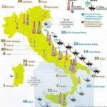 Estratto dal rapporto del Ministero dello sviluppo economico sull'estrazione di idrocarburi in Italia