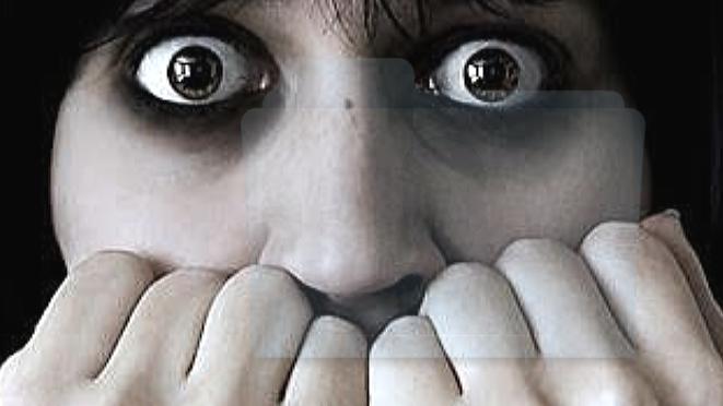 la paura si legge negli occhi