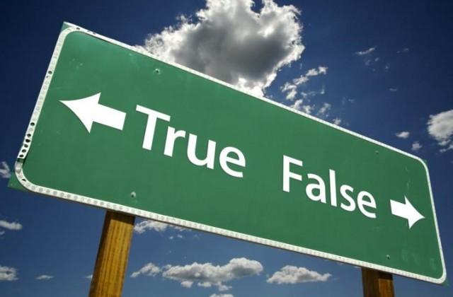 L'attualità in Etica Pubblica non è né vero né falso