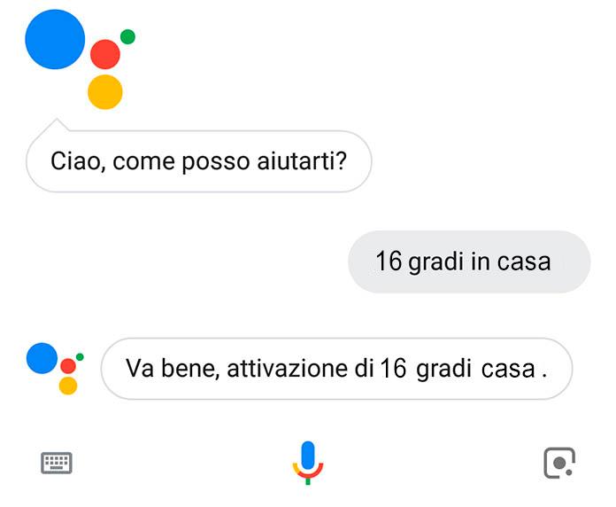 comandi vocali con Google Home e Google Assistant