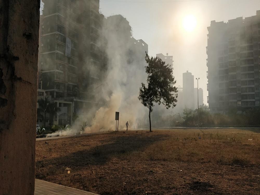 smog, città, diossidi
