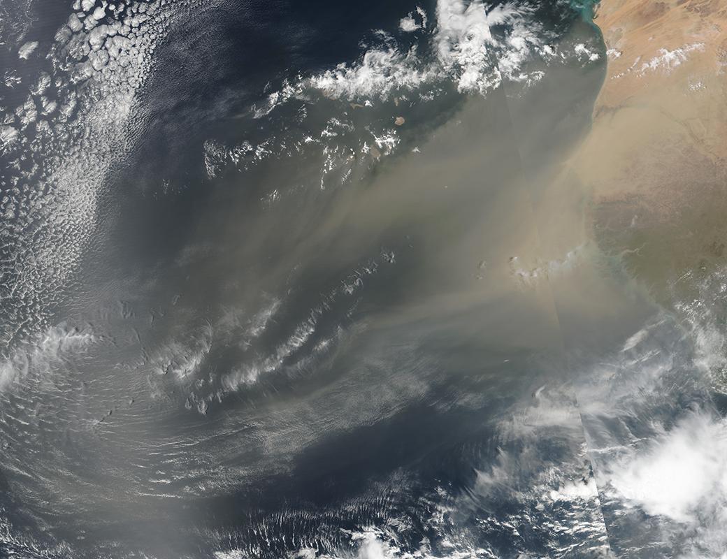 smog, miliardi di virus in forma di aerosol stanno viaggiando per la terra in questo istante