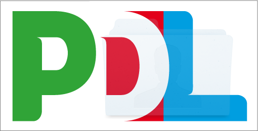 Quindi questo logo creato ad-hoc per rappresentare l'incoerenza, riassume tutti i vessilli [loghi] e le false ideologie che accomunano tutti i partiti con i loro colori